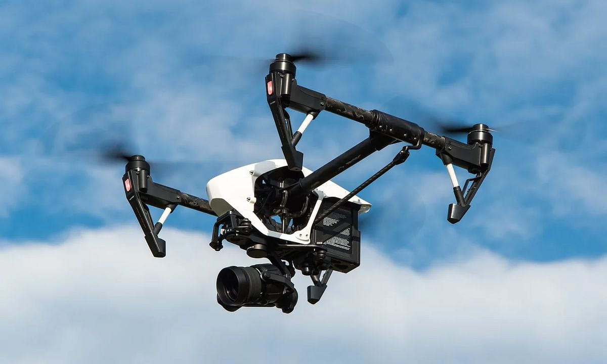 Nagaland govt uses drones in Kohima to spread COVID-19 awareness