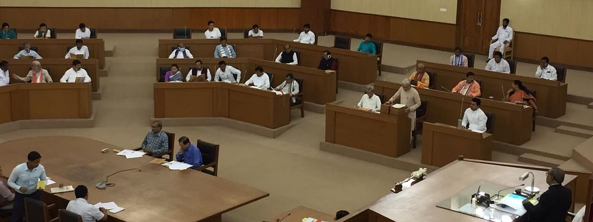 The Budget Session of the Tripura Legislative Assembly began on Friday