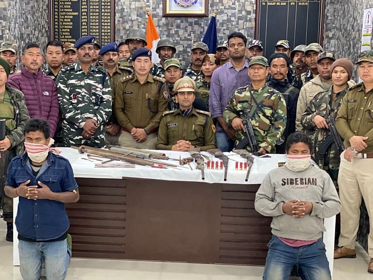 Makeshift arms factory busted in Arunachal Pradesh, 2 arrested