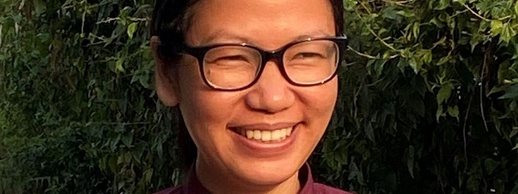 Picture of Tongam Rina, the associate editor of <i>The Arunachal Times</i>