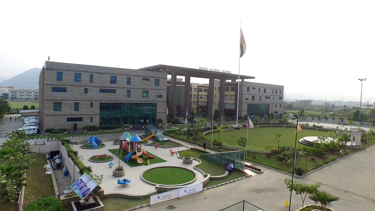 Royal Group is the promoter of Guwahati-based Royal Global University and Royal Global School (above)