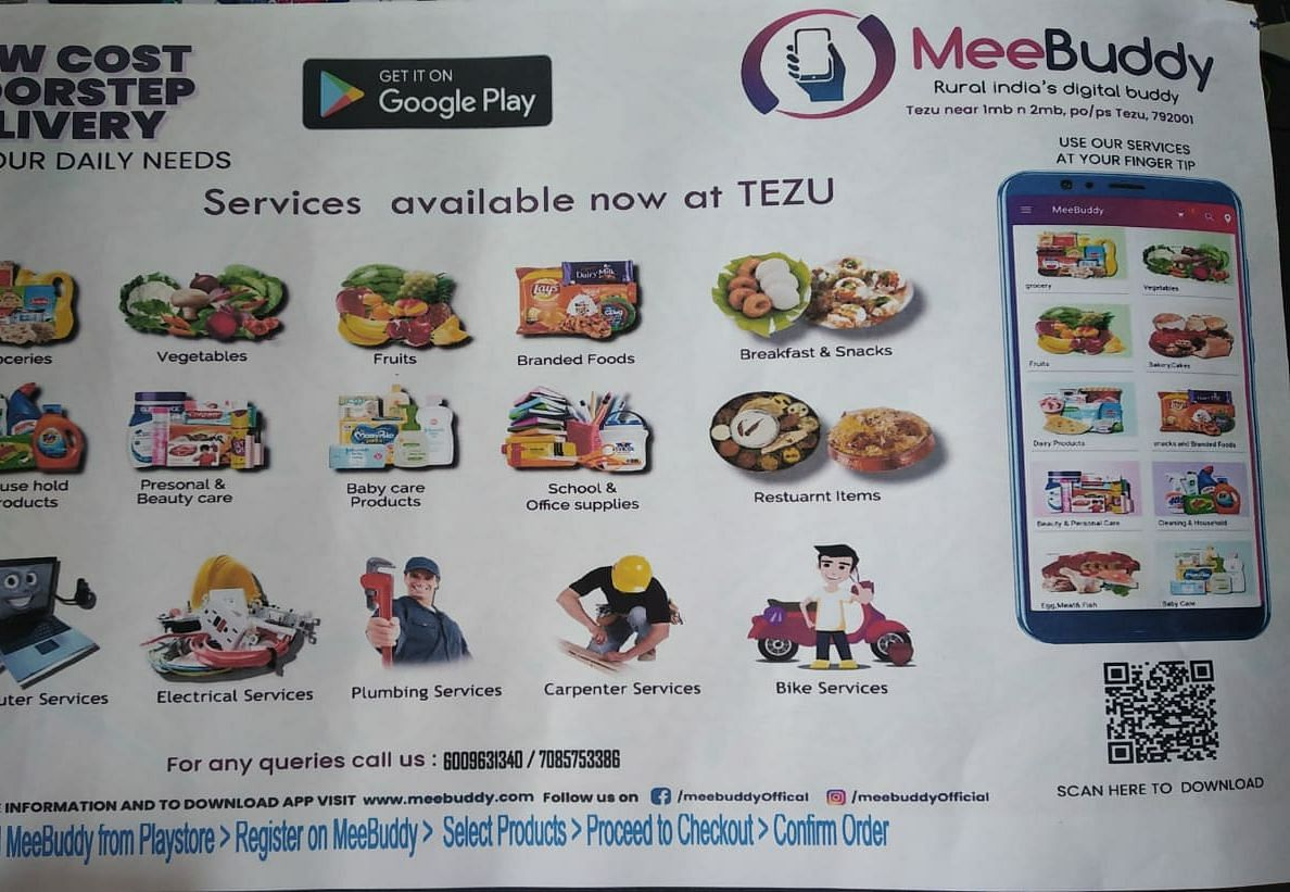 Poster image of the <i>MeeBuddy</i> app