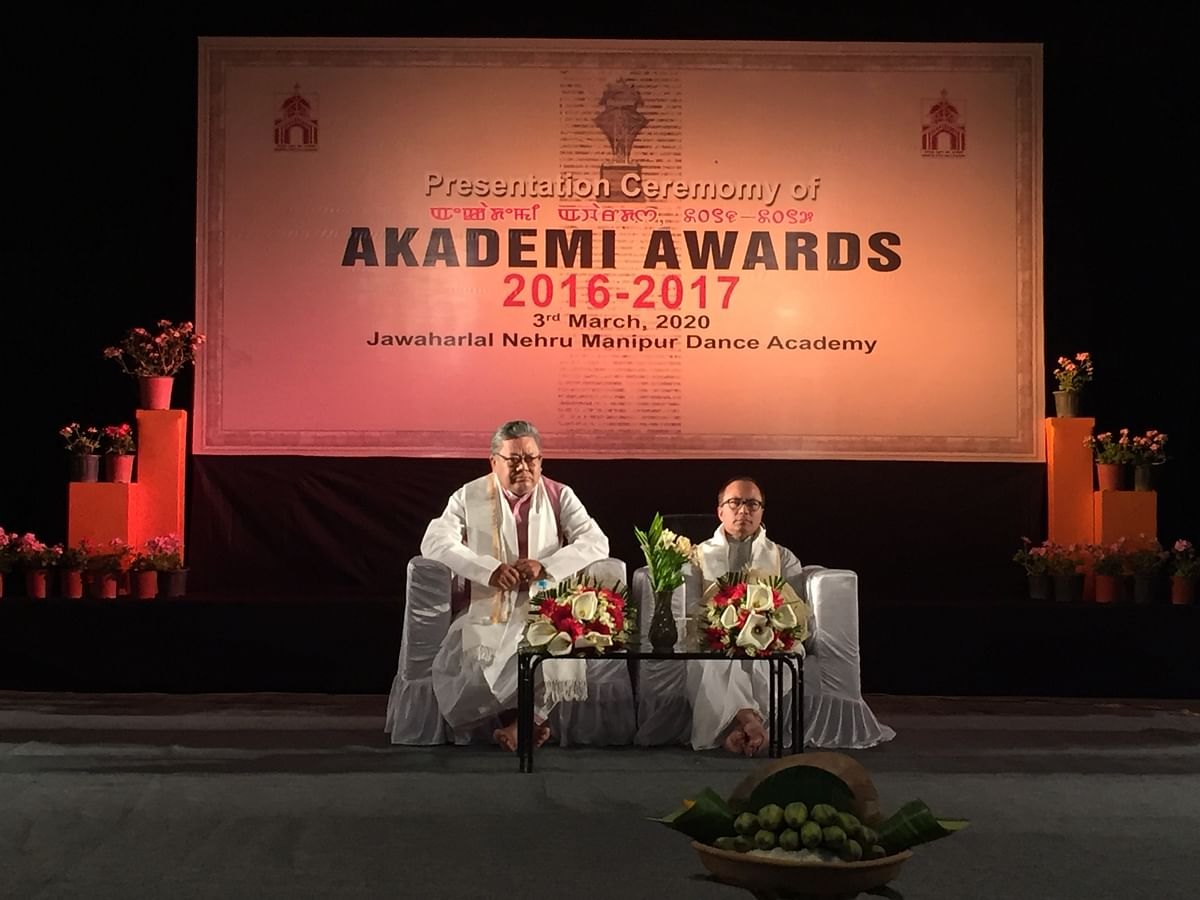 Minister for revenue, CAF&PD Karam Shyam graced the award ceremony on Tuesday