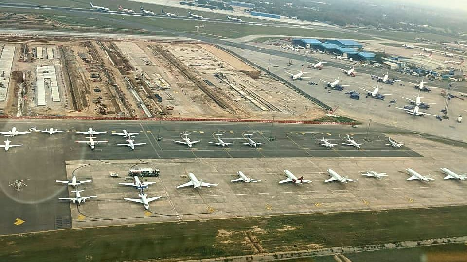 India has suspended all air operations to prevent the spread of coronavirus
