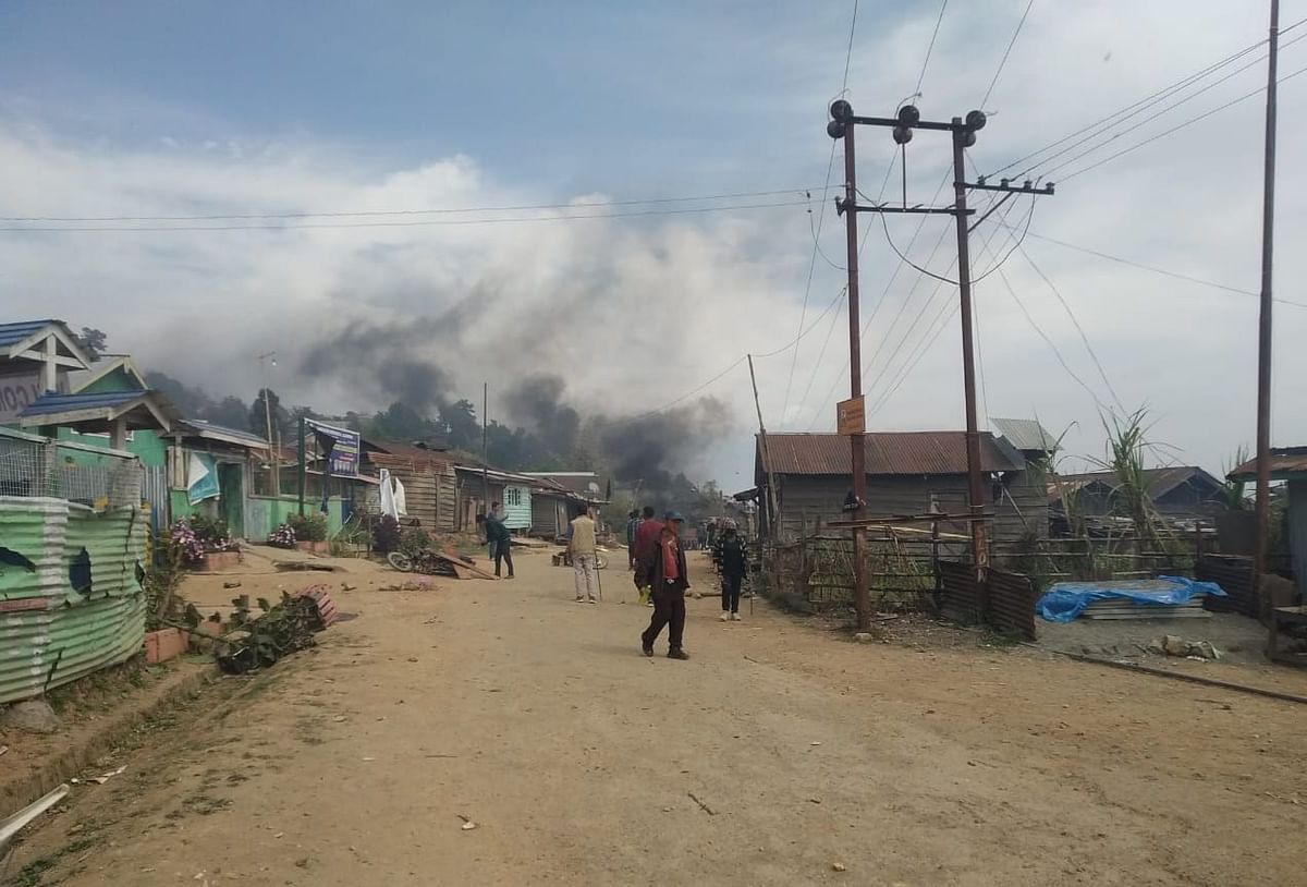 Sec 144 has been imposed in the violence-affected areas of Kamjong district in Manipur