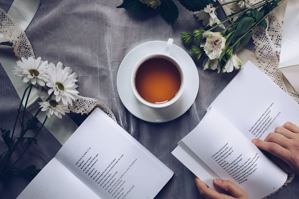 Reading books can help in enriching your vocabulary as well as helps to kill time