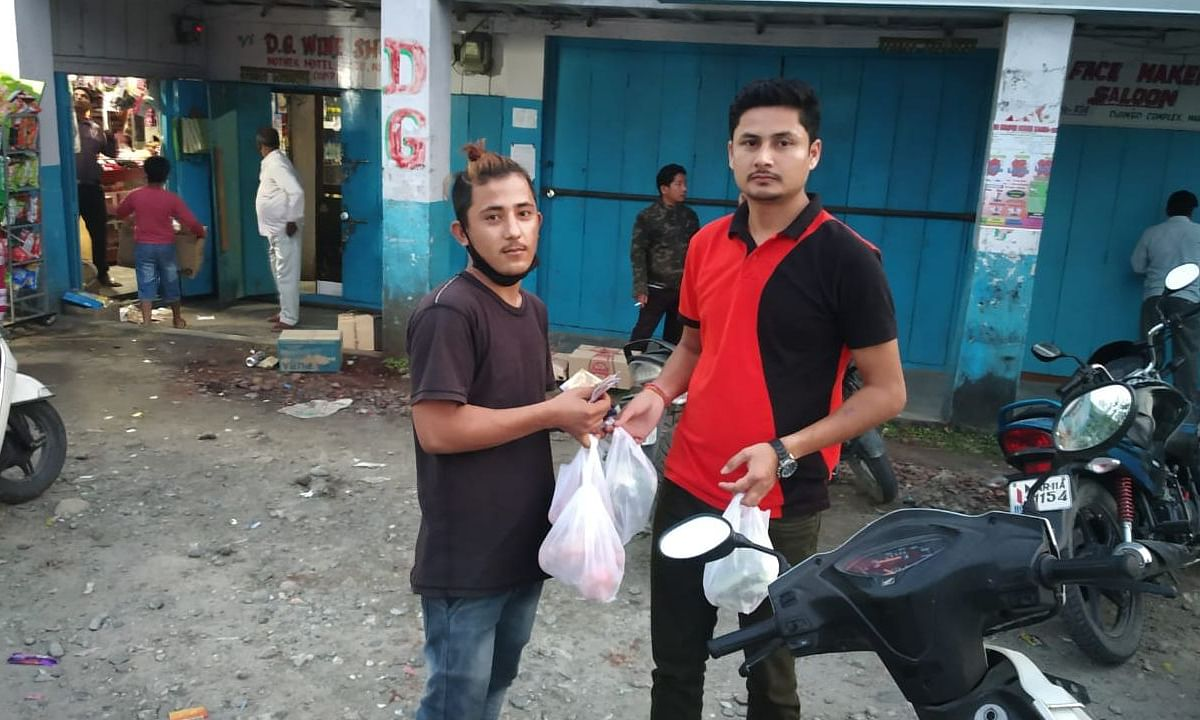 COVID19: How home delivery app is keeping Arunachal locals indoors