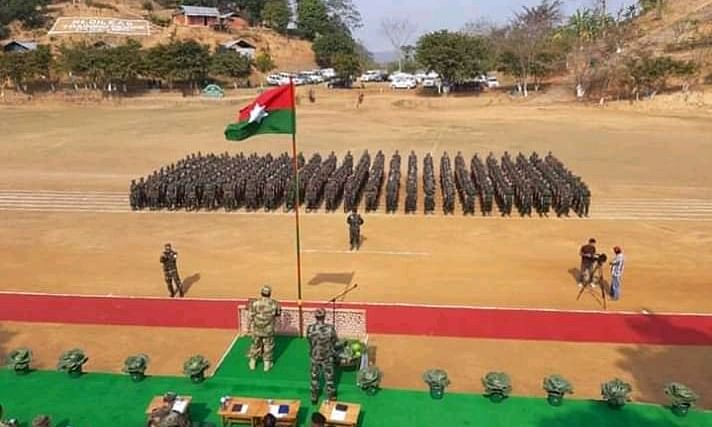 Nagaland: 300 youths officially vow to join Naga Army of NSCN-IM
