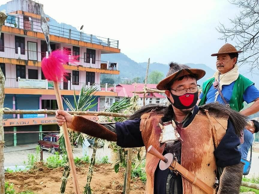 Arunachal tribes perform age-old rituals to 'stop' COVID-19 spread