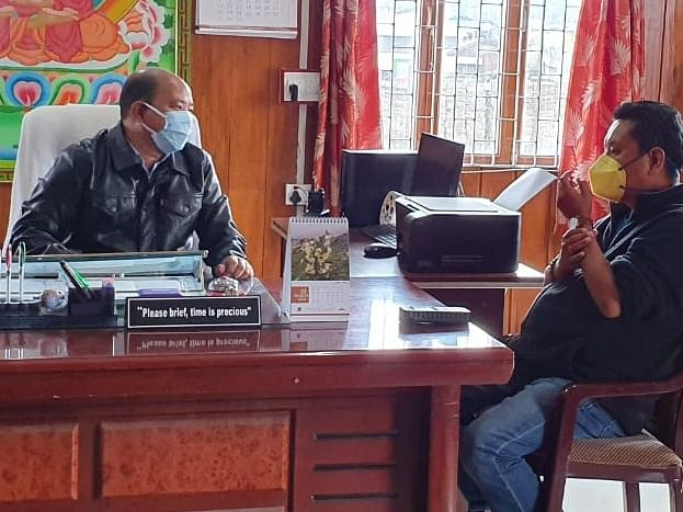 COVID-19: Arunachal Speaker takes stock of situation in Shi-Yomi