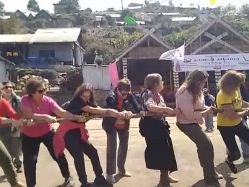 WATCH: How global tourists enjoy indigenous games in Manipur