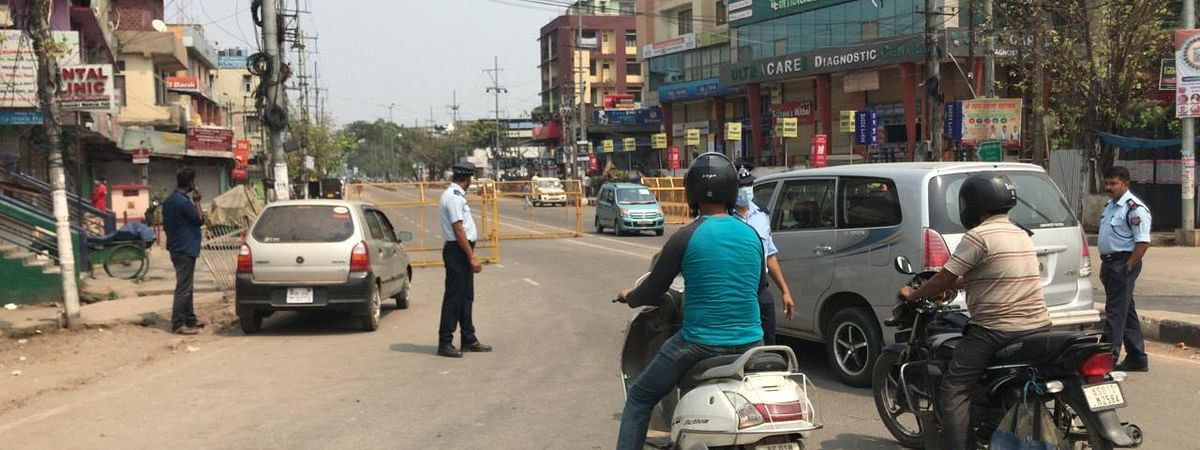The three-day trial has been enforced in Guwahati to reduce the number of cars on roads