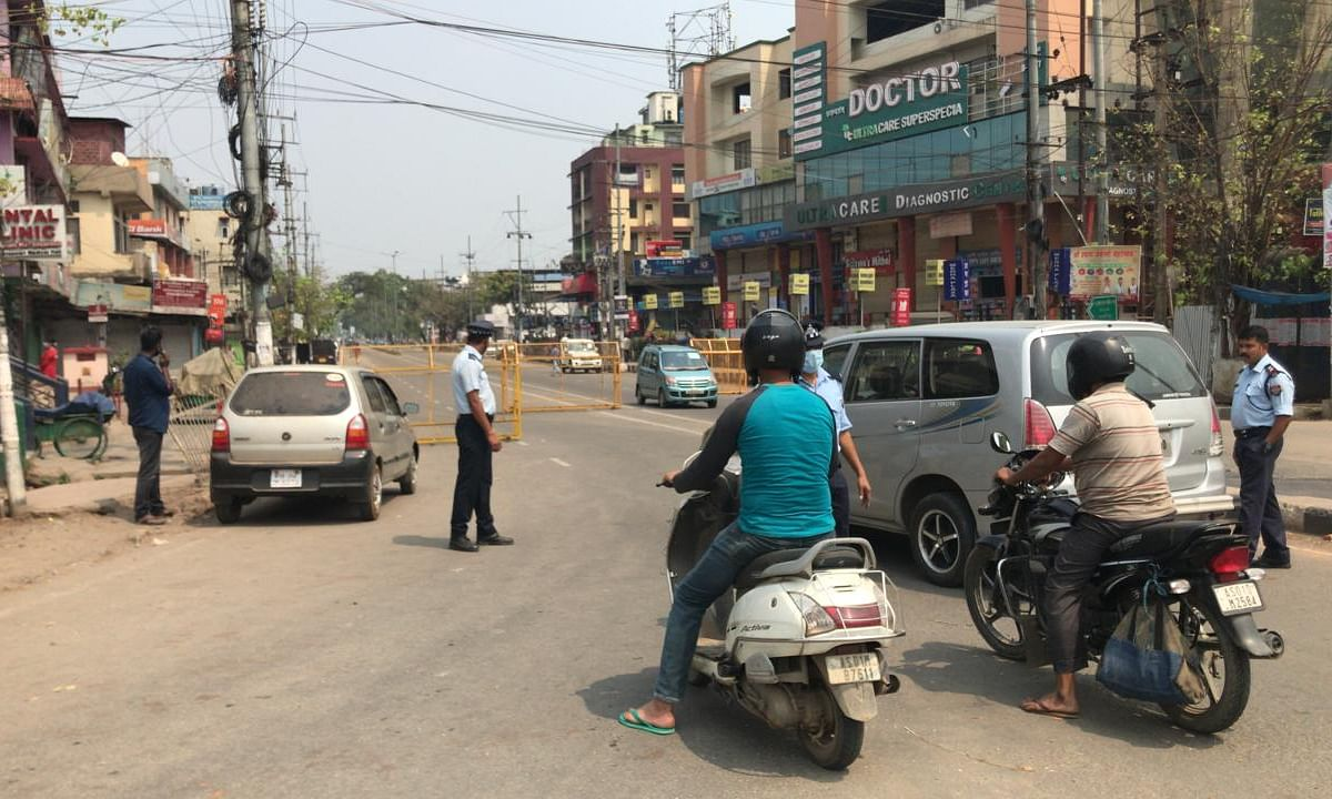 COVID-19: Odd-even vehicle rationing gets underway in Guwahati