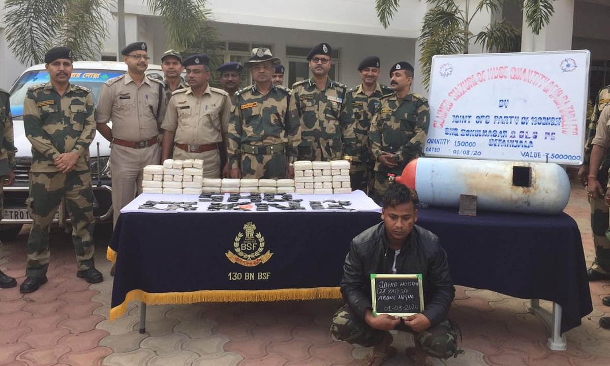 1.5 lakh yaba tablets worth Rs 7.5 crore seized in Tripura, 1 held
