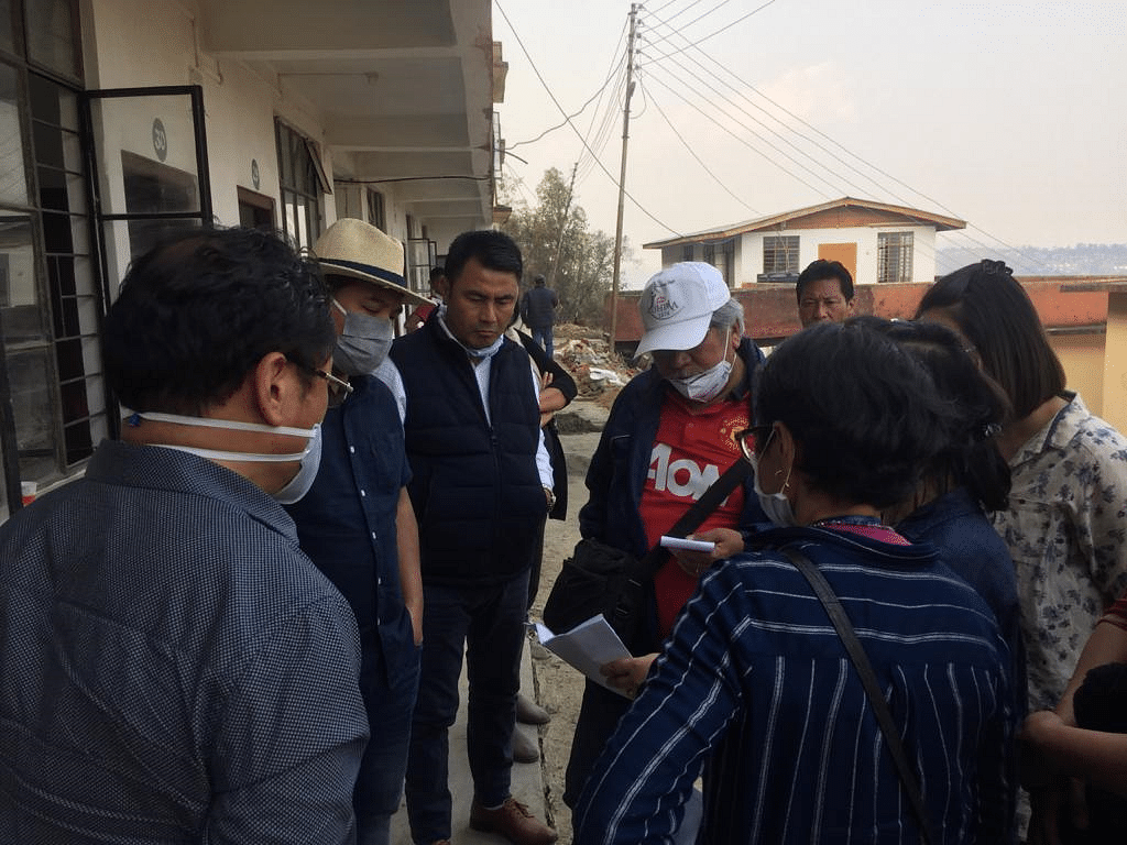 The Kohima district team assessed the district's preparedness on Saturday.