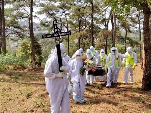 COVID-19: Meghalaya doctor laid to rest at Shillong cemetery