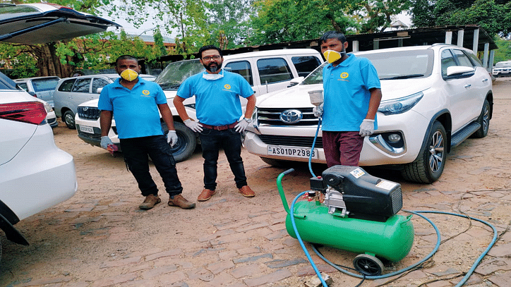 COVID-19: Automovill leads the way in sanitizing Assam's VVIP cars