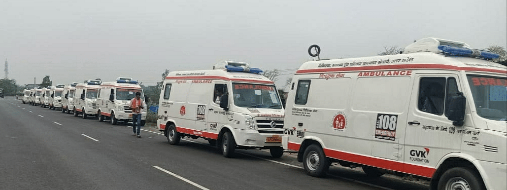 10 ambulances were allotted to all the districts of Nagaland, except Kohima