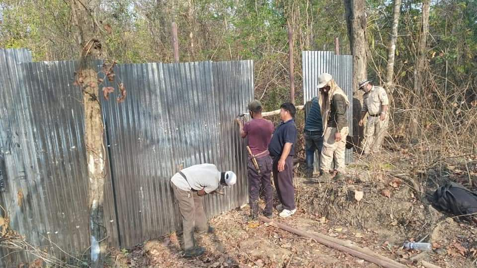 Border fencing work intensified in Manipur amid coronavirus scare