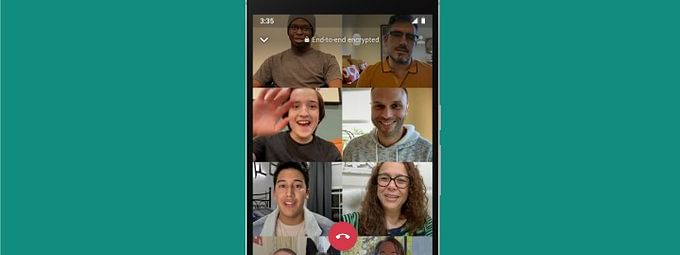 Like before, the new update on video calls in WhatsApp will be secured with end-to-end encryption