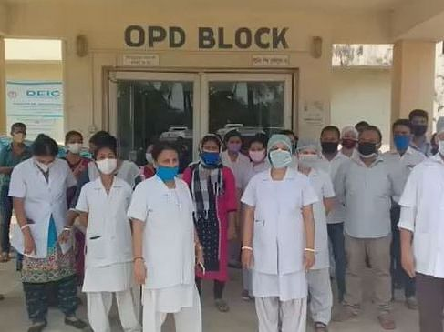 COVID-19: Tripura district hospital faces protective gear shortage