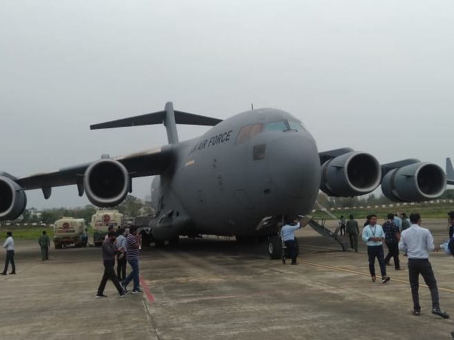 COVID-19 relief: IAF heavyweight C-17 Globemaster lands in Dimapur