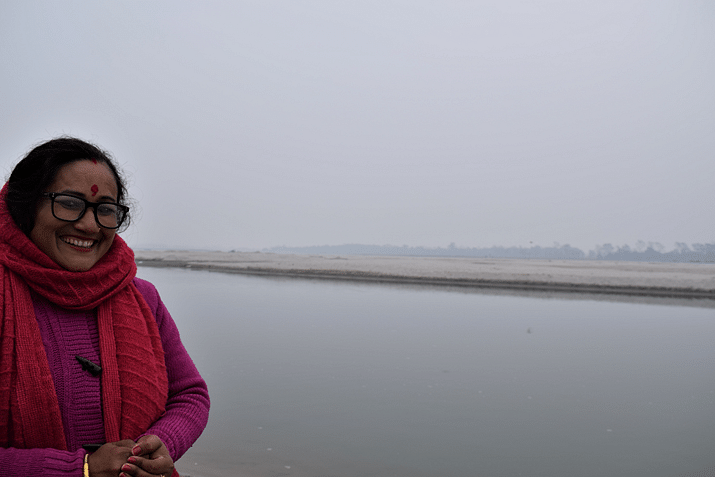 Purna Devi Kasera is leading the women to conserve the fish in the river
