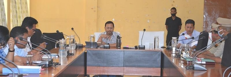 Meghalaya minister takes stock of lockdown situation in Tura