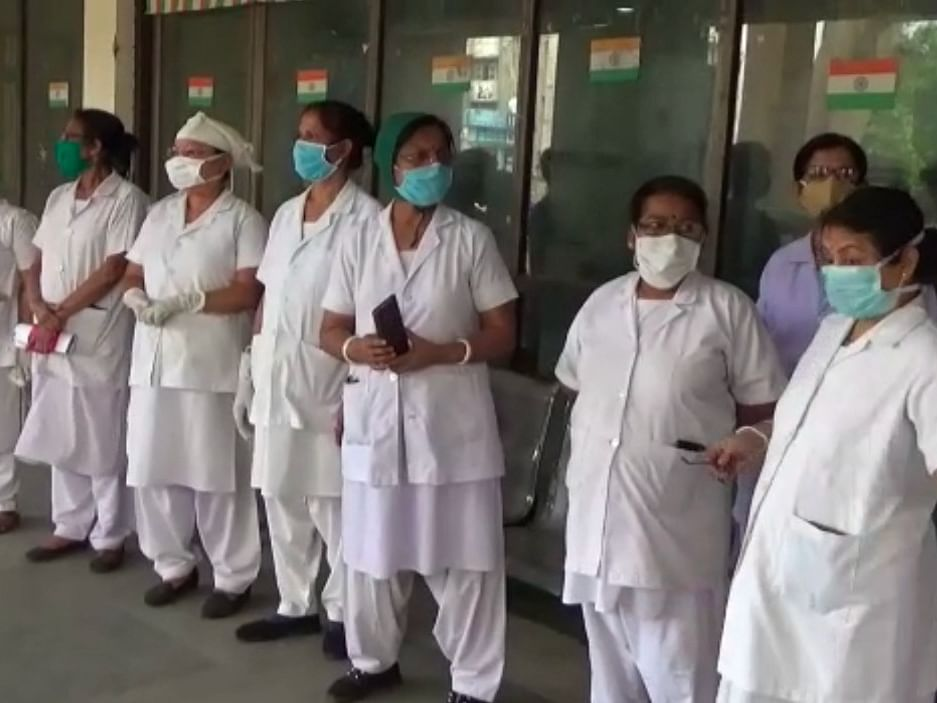 Tripura: GB Pant Hospital staffers protest lack of protective gear