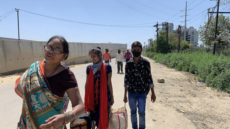 Migrants are returning to environment pressures amid lockdown