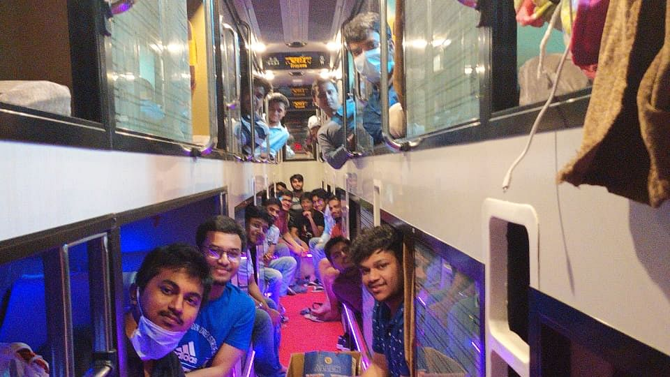 How 391 students from Kota made it across 5 states to reach Assam