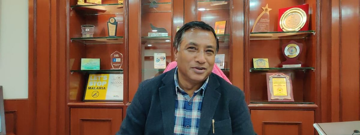 Meghalaya health minister AL Hek will visit the Tura Civil Hospital on Tuesday