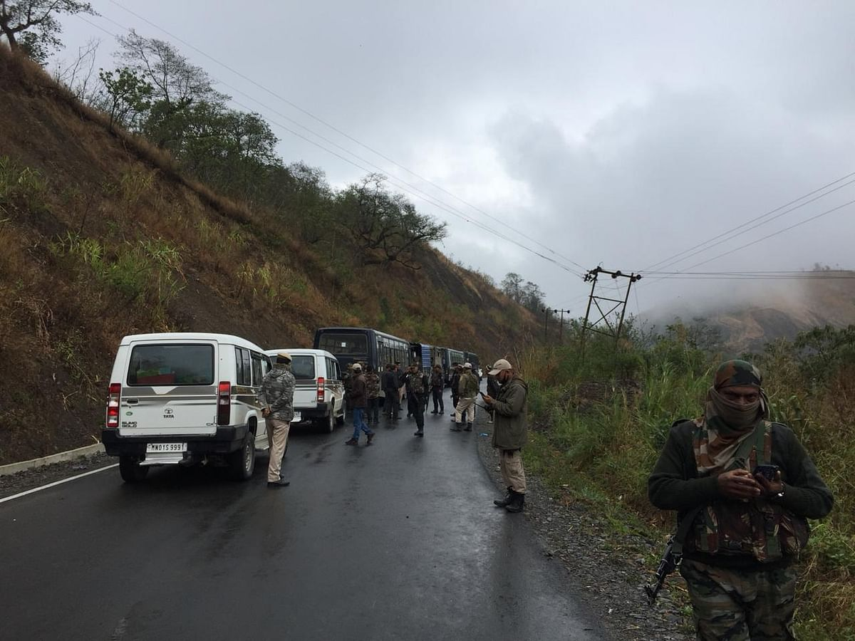 Locals at Honpei have reportedly completely blocked the way for Armed forces to proceed beyond the village