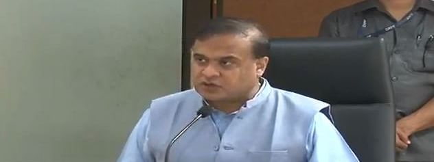 Assam minister Himanta Biswa Sarma gave an analysis of the COVID-19 cases in the state so far during a press briefing on Saturday