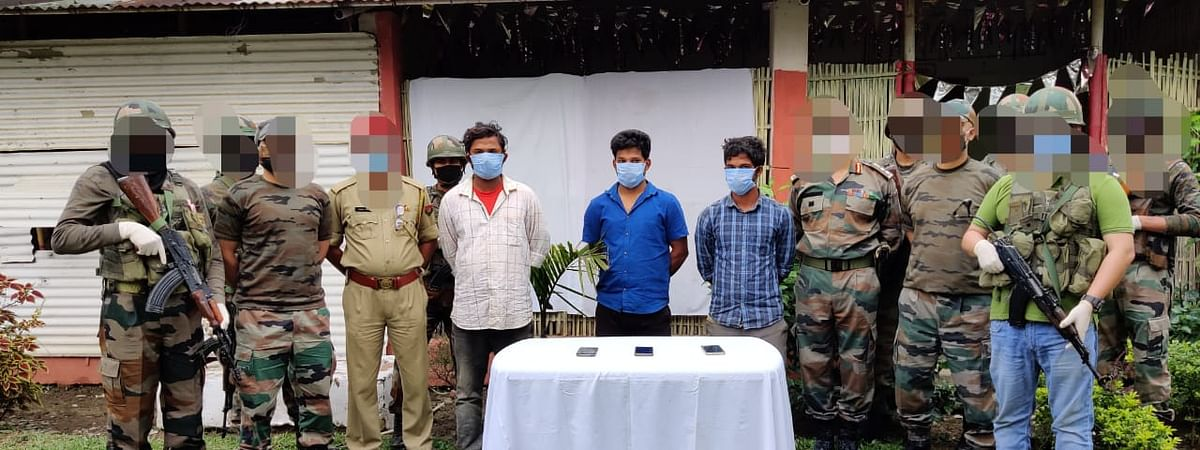 Four cadres and six over ground workers belonging to proscribed ULFA-I were apprehended