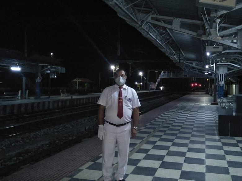 I write poems to beat lockdown blues: Assam railway station master