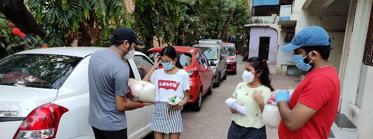 Meghalaya students stranded in Mumbai being provided with ration kits