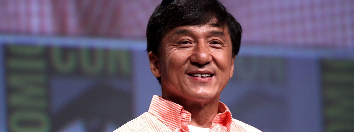 Hollwood action comedy superstar Jackie Chan
