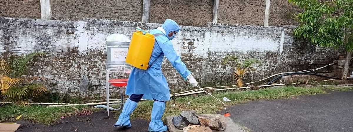 Imphal West in Manipur and Aizawl West in Mizoram are the only two NE districts to enter orange zone of the COVID-19 pandemic