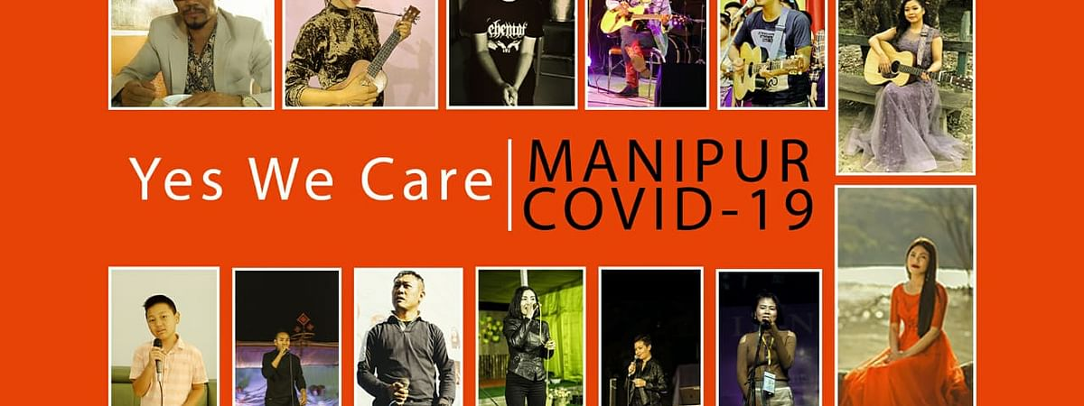 Altogether, 13 artistes from Manipur have lent their voices for the video music