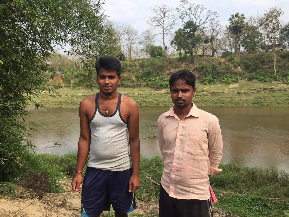 Rupam Basak and Sushanta Basak were the eyewitnesses who saw the BGB troops pushing the woman into Indian territory on April 2