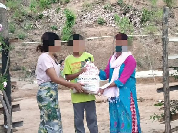 COVID-19: Manipur BJP offers aid to women with HIV/AIDS in Imphal
