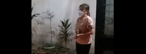 The nurse was released from hospital in Delhi on Sunday