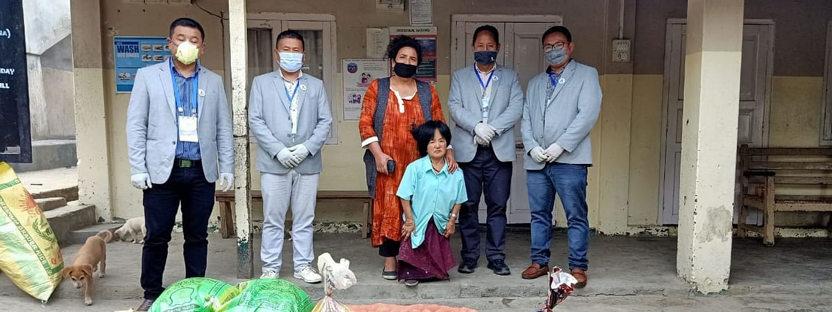 Northern Angami Youth Organization (NAYO) has reached out to three shelter homes in Kohima