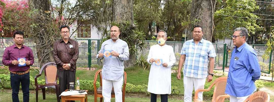 The new video music titled 'Akiba Laanda Amani' was released by Manipur CM N Biren Singh on Wednesday