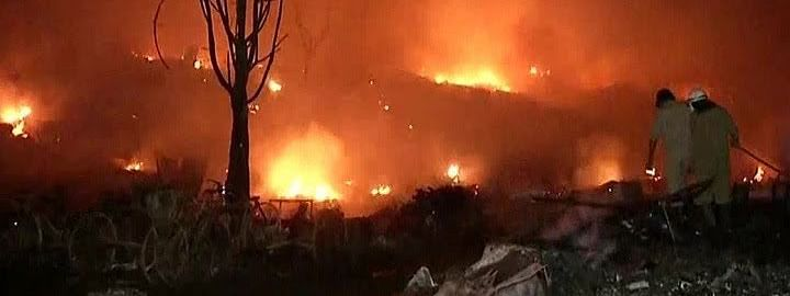 Tughalaqbad slums have over 500 houses, out of which over 250 have been destroyed in the Monday night fire.