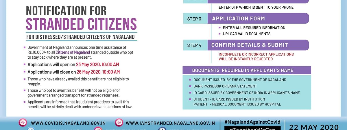 Notification issued by the Government of Nagaland