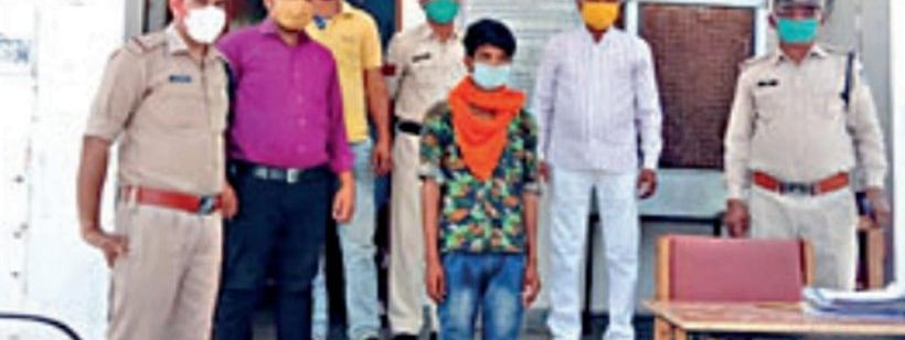 A 15-year-old boy returned home after 3 years in Madhya Pradesh