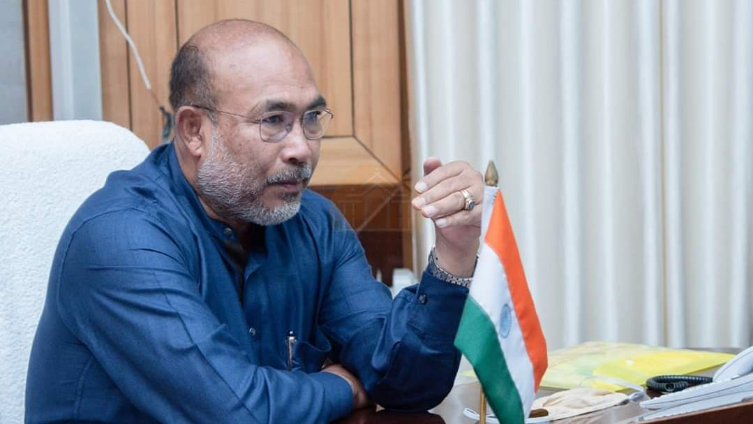 Manipur chief minister N Biren Singh tests COVID-19 positive