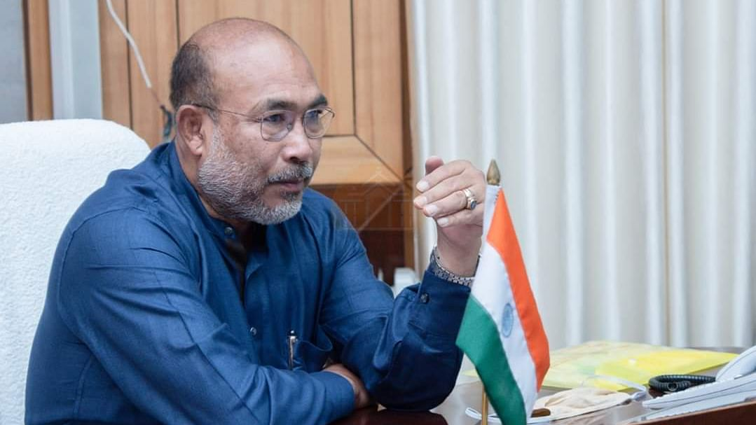 Manipur CM N Biren Singh launches web portal to share COVID-19 related stories, activities